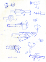 MLP: BoMPP Weapons Concept 01 by FlamingoRich