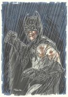 BATMAN - INJURED commission by leagueof1