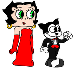 Betty Boop and Bimbo going to Academy Awards 2017 by MarcosPower1996