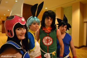 DRAGONBALL: epic line up by bandbutters