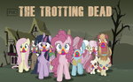 The Trotting Dead Poster by waterbender412