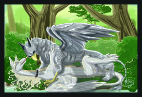 Finished Commission by mialythila