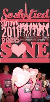 SMTown Paris 2011 Shirt Design by soshified