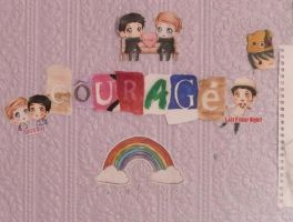 Courage. by Ladyly