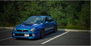 WRXed in the Forest Take 2 by melodicnitemare