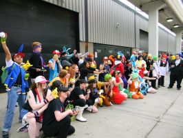 Pokemon Trainers - Anime Central 2013. by EndOfGreatness