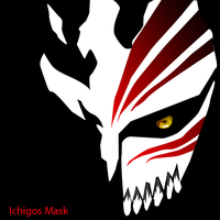 Ichigos Hollow mask by MD3-Designs