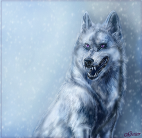 Smiling Wolf by AlexGaier