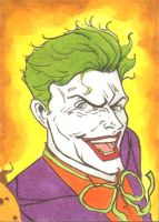 Joker Sketch Card 3of3 by wheels9696