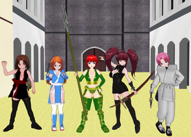 Parallel Lives US Girls Ninjas by quamp