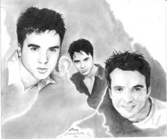 LUIS FONSI PORTRAIT by 5antiago