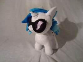 Vinyl Scratch DJPon3 filly plush w/cutie mark by PlanetPlush