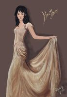 Heather - Wedding Dress Style by De1in