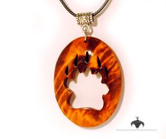 Bear paw pendant by JOVictory