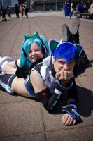 Vocaloid Photoshoot - Mcm Expo May 2012 by Stargatesg360