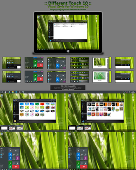 :: Different Touch 10 :: for Win10 by sagorpirbd