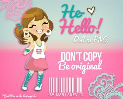 Doll He-Hello! by ~Marianevic by Marianevic
