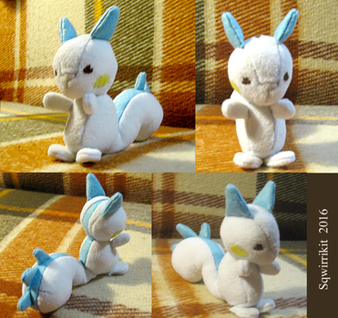 Elesquirrel plushie by Sqwirry
