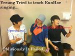 When YeSung teaches EunHae Singing by LaskmiSims