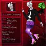 Yanni R. Colonomos by deerly-hime