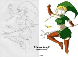 Female Link by linkofholland