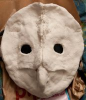 Owl Mask WIP by Bloodstained-Snow