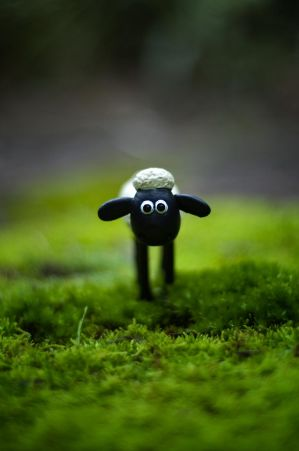 Shaun the Sheep by bigbear74