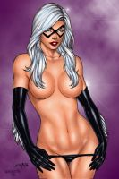 Black Cat By Carlos Braga by winchester01