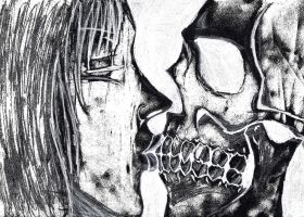Kiss the dead inverted by 1r0zz0