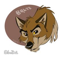 Fanart: Balto Badge by SilverDeni