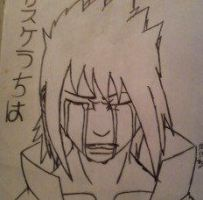 Sasuke Mourning by M-Halibel814