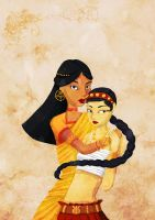 India - Illustration by Val-eithel