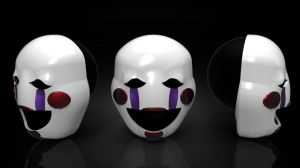 The Marionette's Mask (FNAF) by ShadowLinkster