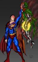 From the Vine: Superman v Doom by ssejllenrad2