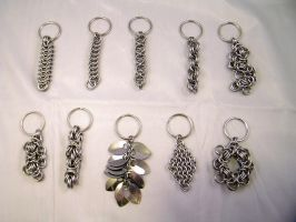Christmas Keychains 2014 by chainedoombaby