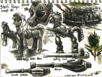 Fallout: Equestria Steel Ranger Concept Art by VintageNinjaFish