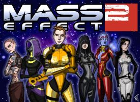 Mass Effect: Girl Power by Maloneyberry