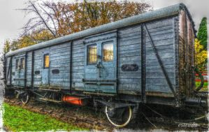 The Old Railway Carriage by Estruda