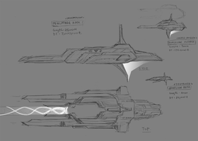 Concept: Prothean Starships - Large Vessels by StellarStateLogic