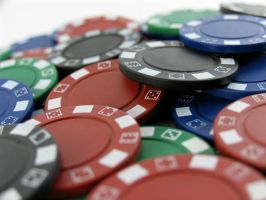 Stock - Poker Chip Series 7 by mystockphotos