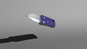Bear Auto Knife 3D by Krayzieee