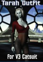 Tarah Outfit for V3 Catsuit by mylochka