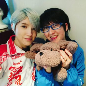 Yuri On Ice: One Happy Family  by LSPcosplay