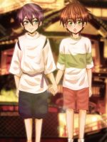 MakoHaru Spirited away by SinfulHime