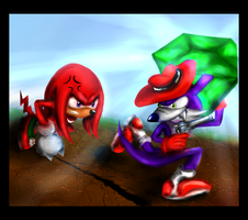 Knux Fang : Give it BACK by sensum