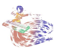 +Piano Squall+ by tae-