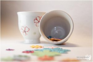 Flowered Tea Cups by sicmentale