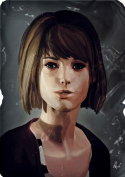 Maxine Caulfield by debandsketches