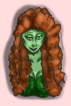 Curly haired ivy by ivysclownprincess