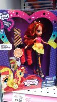 Sunset Shimmer Doll by Mileymouse101